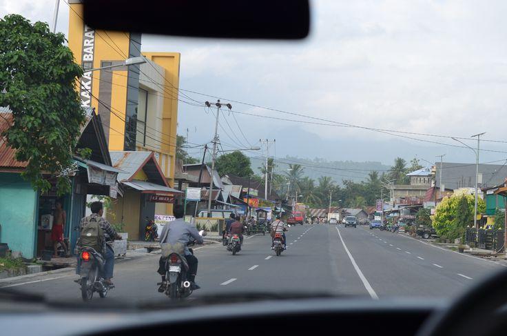 On the road towards the mountains. #motorbikeheaven #leftsidedriving