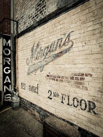 Morgans ghost sign | ghost signs