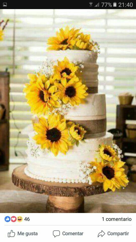 Torte Matrimonio Girasoli : Pin von tamara cardinale auf cake design matrimoni bohémien torta