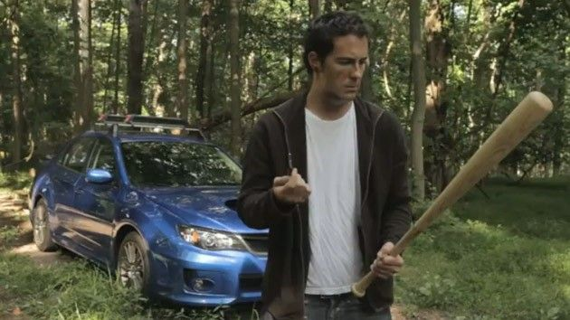 Subaru WRX...official escape vehicle of the zombie apocalypse?