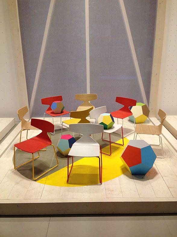 Arper childrens Saya Chair by lievore altherr molina