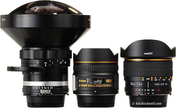 One Nikon D5000 Fish Eye lens thanks :)