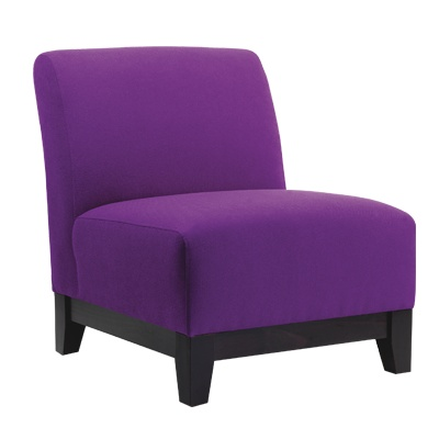 Plush sofas.