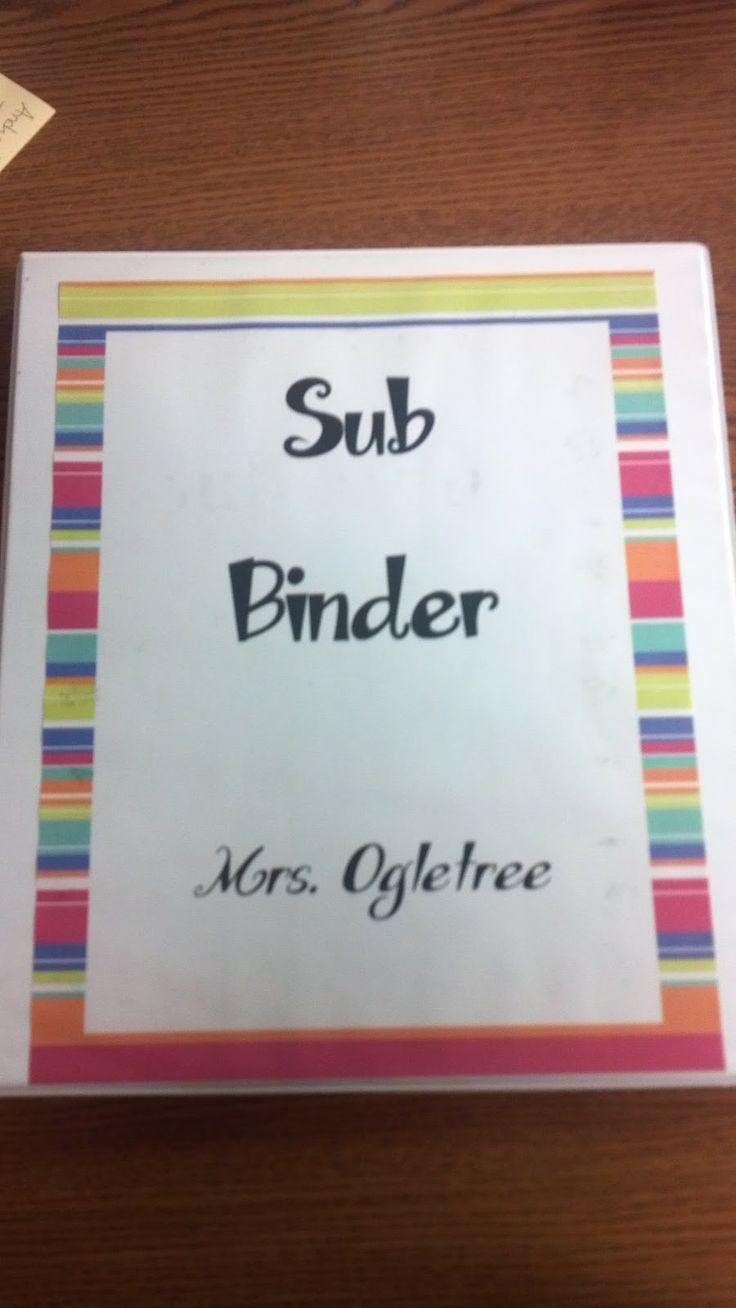 Sub Binder - Puts my 'Sub Folder' to shame!
