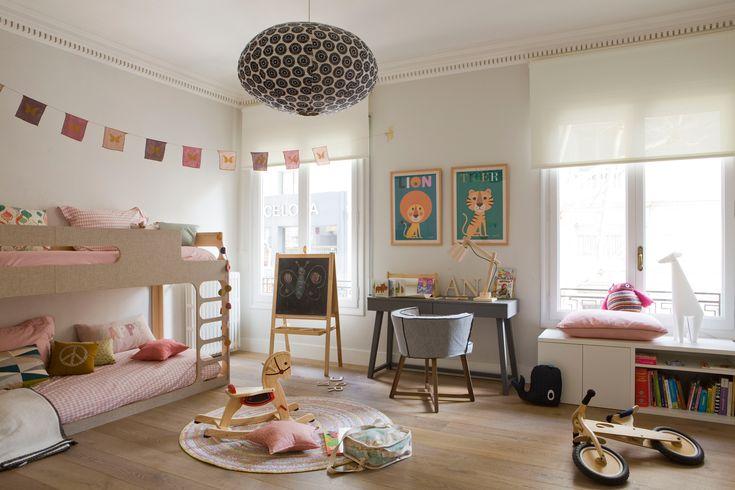 M s de 1000 ideas sobre litera escritorio en pinterest - Literas para habitacion pequena ...