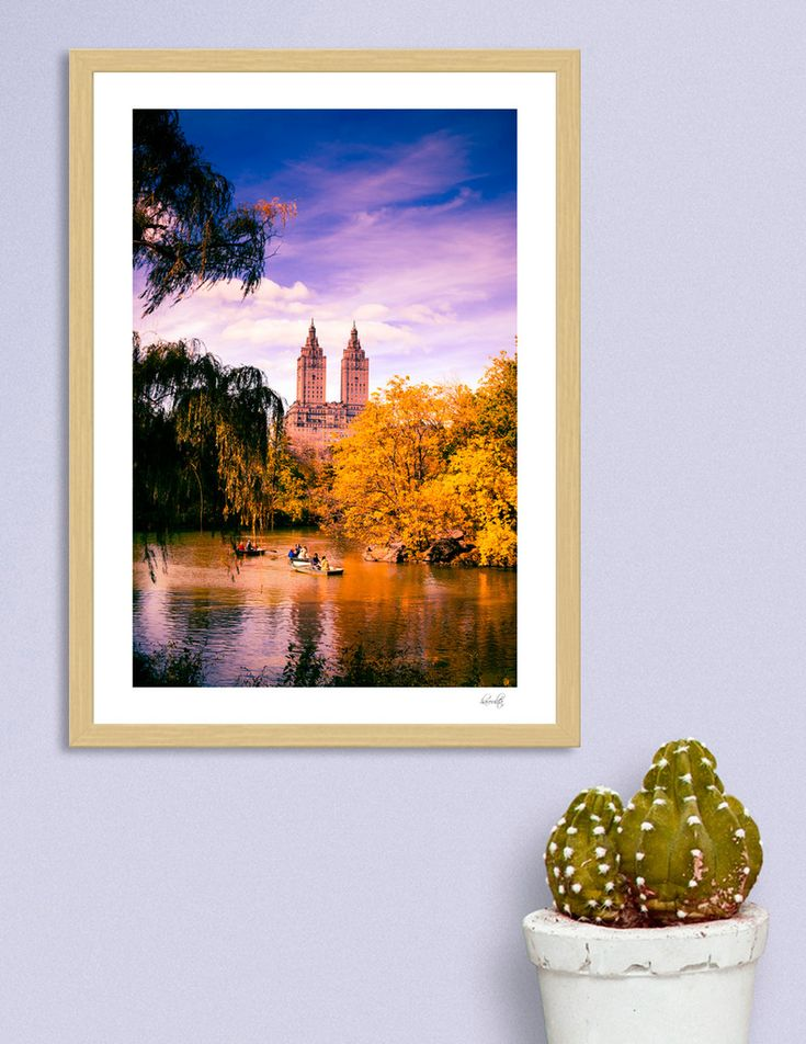 «Central Park iii», Numbered Edition Art Print by haroulita - From 18€ - Curioos