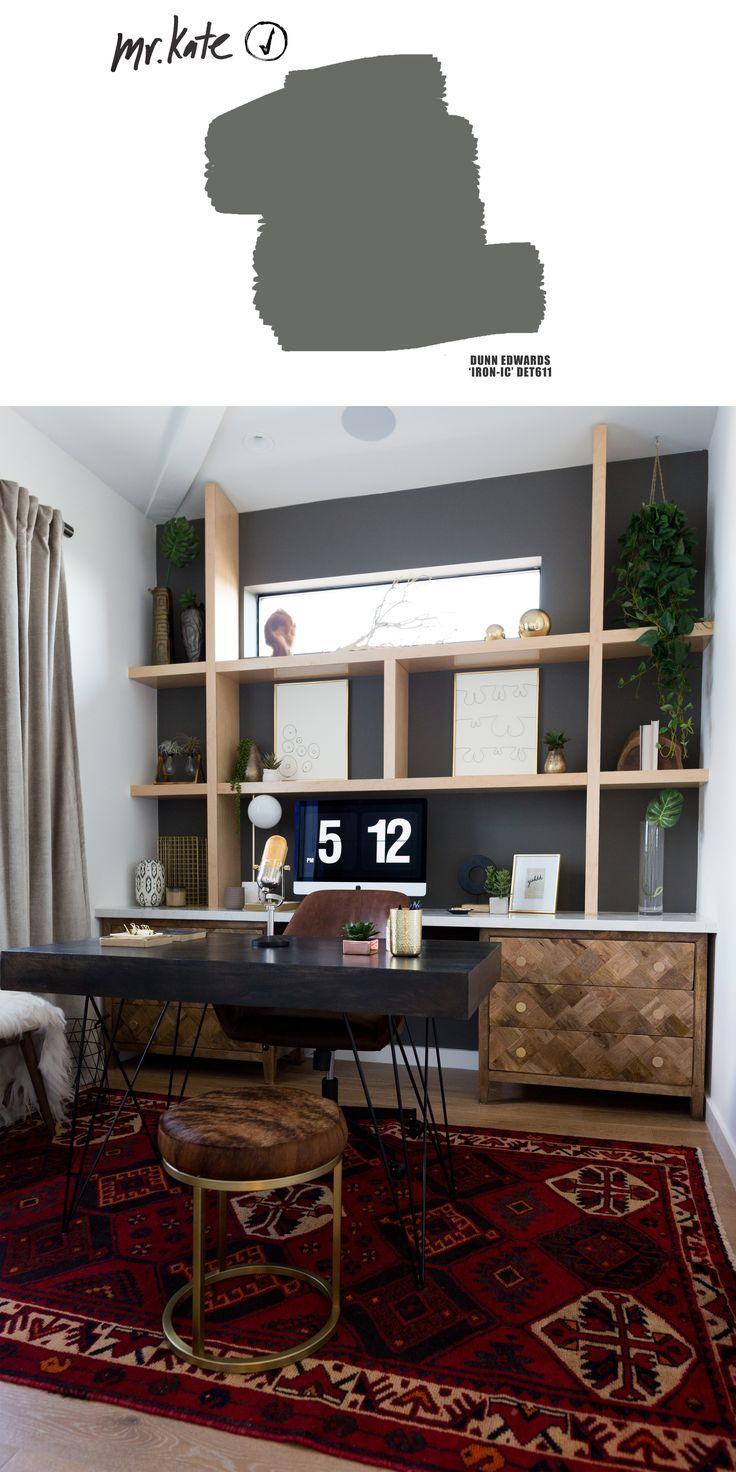 Liza Koshy S Dream Home Office Office Wall Colors Home Decor