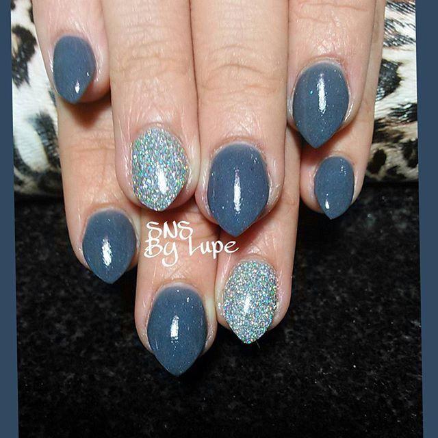 SNS nails (dipping powder) !                                                                                                                                                                                 More