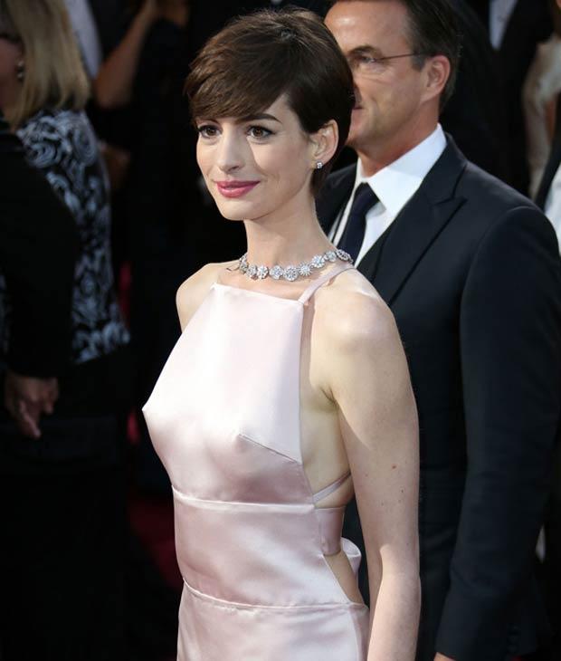 Anne Hathaway #Oscars #Oscars2013.