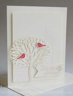 handmade winter/Christmas card from Laura's Works of Heart ... Thoughtful…