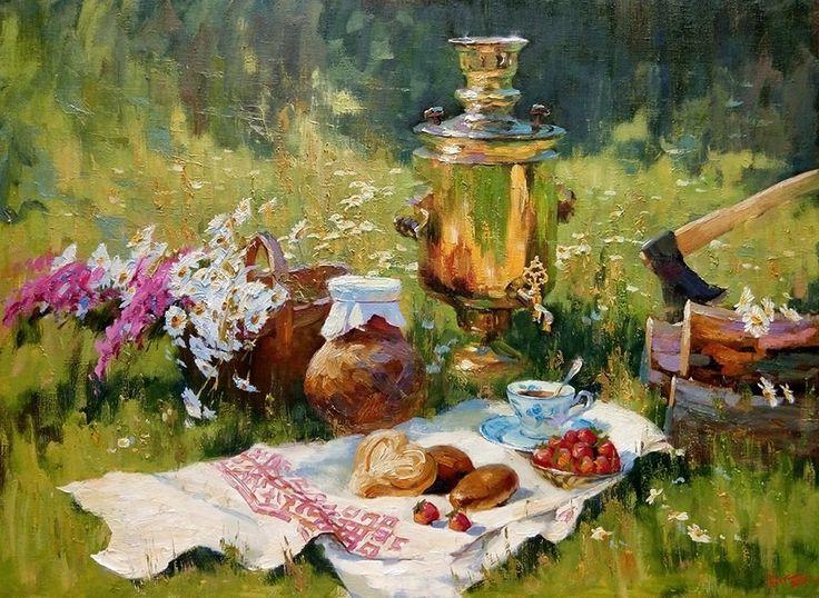 Нестерчук Степан. Чай с клубникой