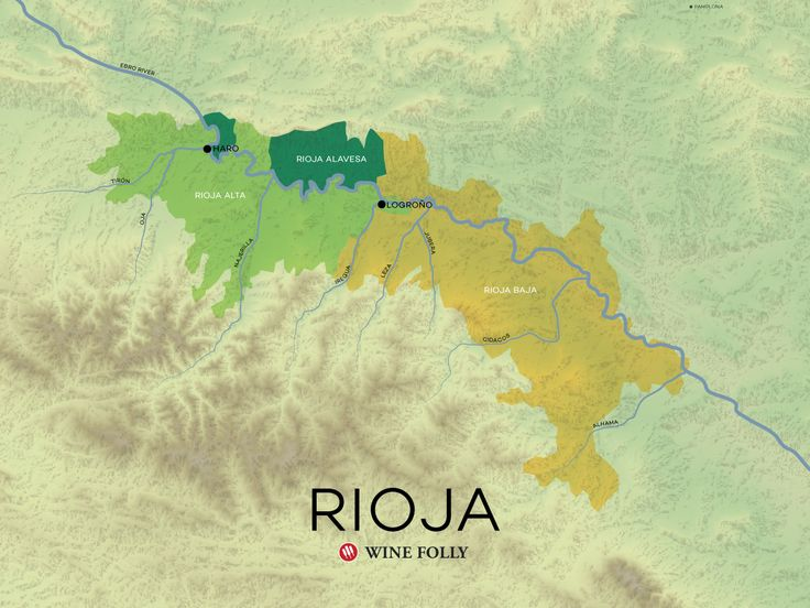 An advanced article on the different terroirs of Rioja based on the valleys of the Ebro River. Understand Rioja's wines through their location within the 3 sub-regions.