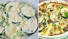 Zapečená cuketa s česnekem a sýrem | NejRecept.cz