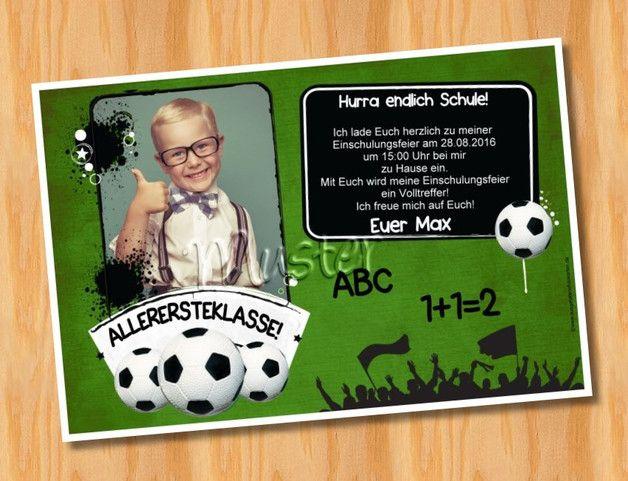 Einladungskarten zur Einschulung, Schulanfang mit Foto!  **Die Mindestbestellmenge beträgt 10 Stück.**  **Preis pro Karte 1,39 Euro im 10x15 Format!** **Preis pro Karte 1,79 Euro im 13x18...