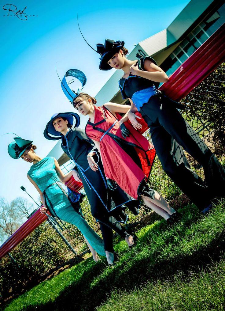 SOVATA - ' Green Moon ' 2013 #fashfest #sovatafashion #millinery #zerowaste #racingfashion #racingstyle #fascinator #designer