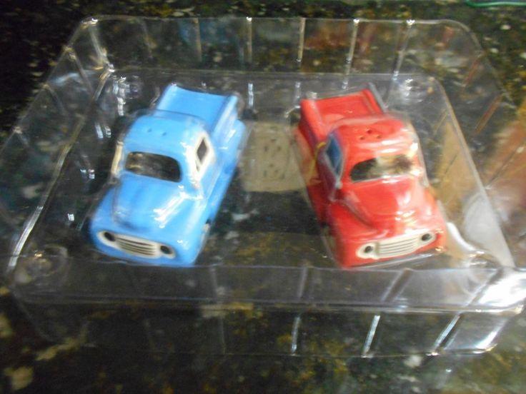 Ford Trucks Magnetic Salt & Pepper Shakers NIP!!