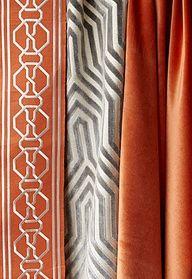 Celebrity Interior Designer Mary McDonald new line of trim and fabric for Schumacher