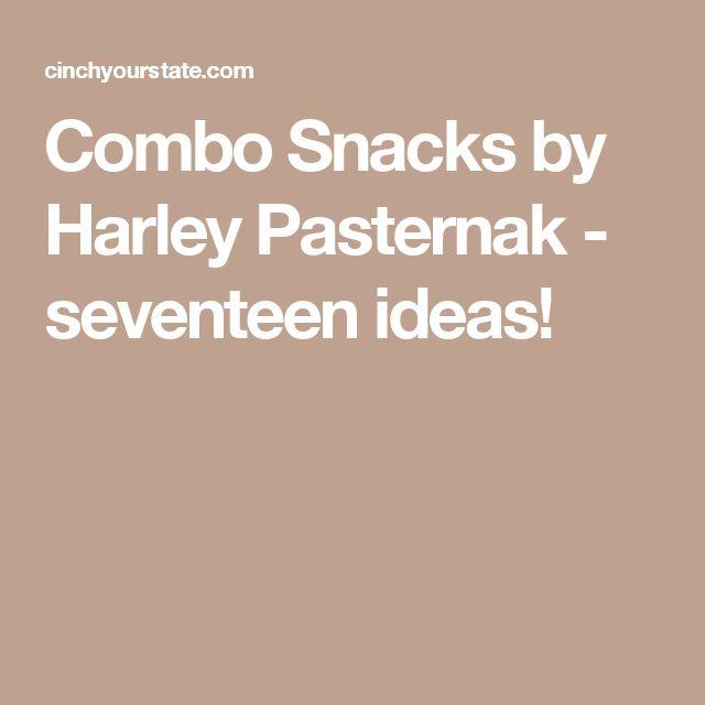Combo Snacks by Harley Pasternak - seventeen ideas!