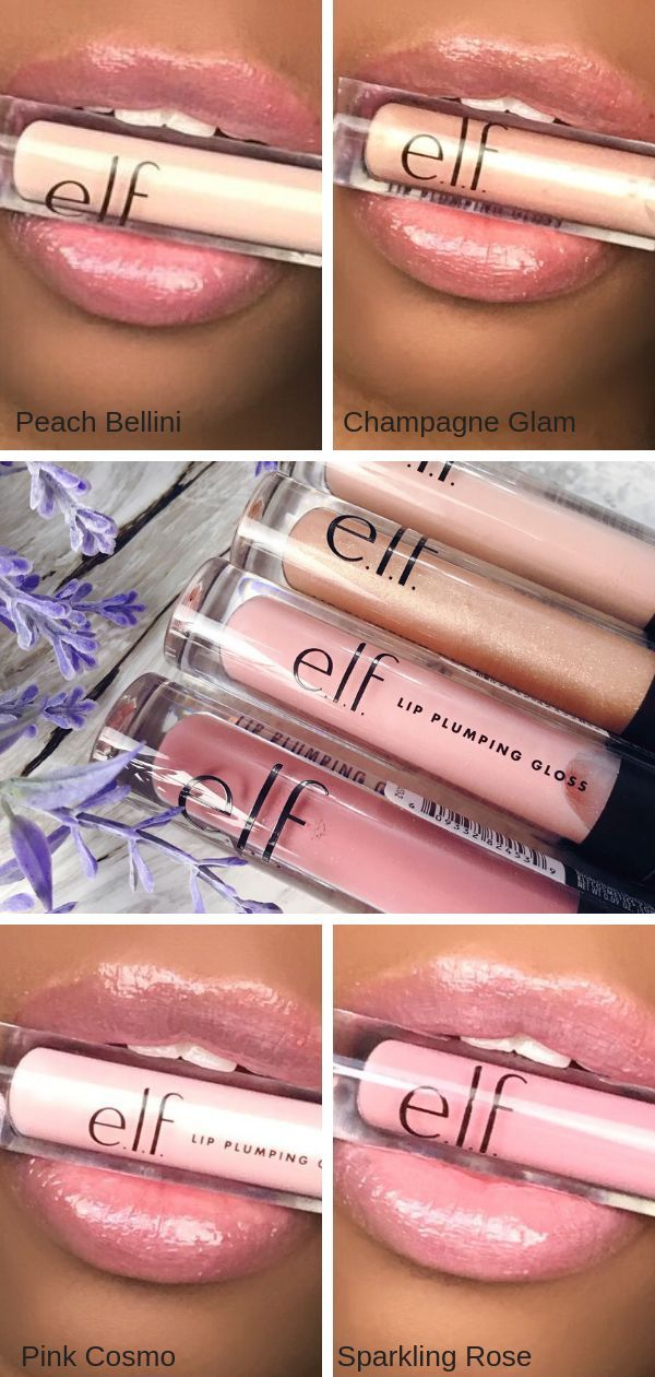E L F Lip Plumping Gloss Is The Gloss You Need Right Now Puckerupbabe Lip Plumping Lipstick Plumping Lip Gloss Best Lip Plumping Gloss
