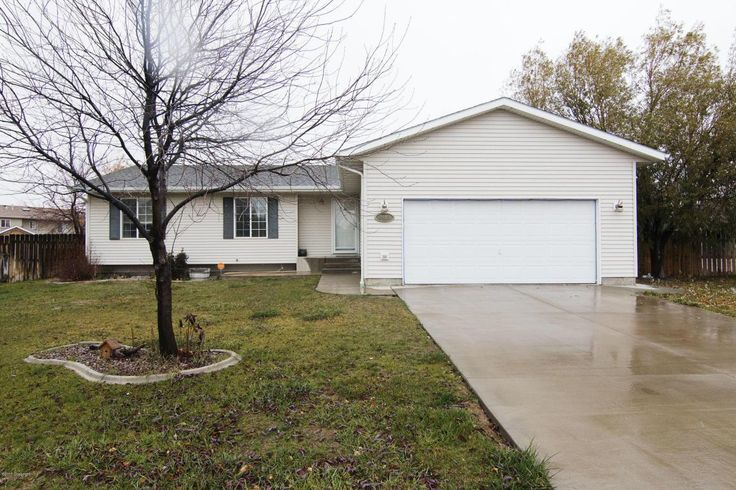 Gillette, WY home for sale! 2406 N Buckboard Ct - 3 bd, 3 ba, 2336 sqft. Call Team Properties Group for your showing 307.685.8177
