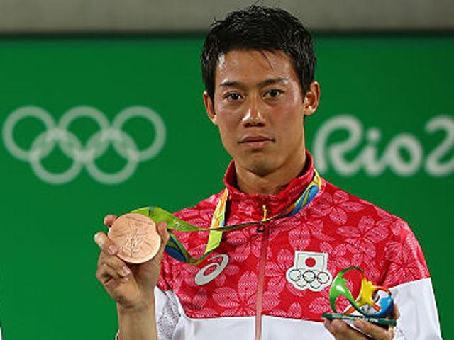 96年ぶりのメダル獲得 錦織圭(テニス)