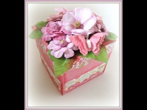 ▶ Exploding Box With Explosive Flowers Tutorial - Part 1 - YouTube