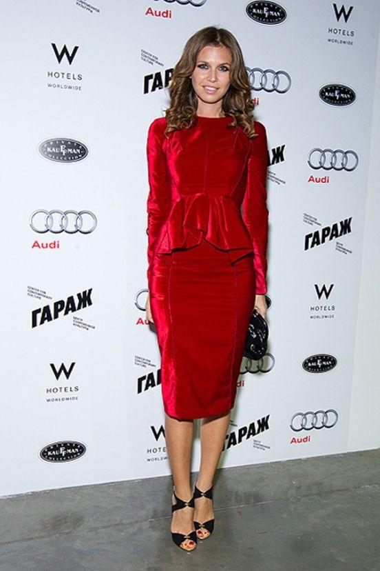Daria Zhukova and her dream dress