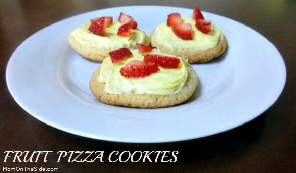 Fruit Pizza Cookies | Dessert | Cookie Recipe