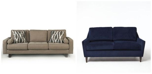 Affordable Apartment-Sized Sofas: A Case of the Wants (http://blog.hgtv.com/design/2014/04/03/affordable-apartment-sized-sofas/?soc=pinterest): Affordable Apartment Sized, Apartment Life, Apartment Decor, Apartment Size Furniture, Apartment Sized Sofas, Apartment Living, Apartment Size Sofa, Apartment Wishlist