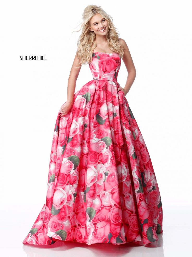 16 best Patterned Pageant Gowns images on Pinterest