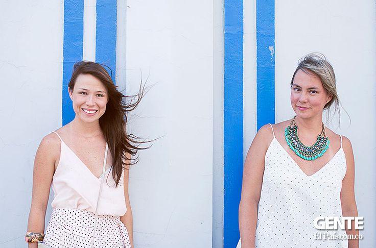 Sabrina y Vanessa Franco estas hermanas caleñas . La de cabello oscuro, es dueña de 'S', una marca que se enfoca en el diseño de prendas básicas para combinar. La otra, la rubia, es la responsable de 'Ocho', otra marca que se especializa en la elaboración de objetos que mezclan el arte de la marroquinería y el uso de materiales innovadores y poco comunes.  ¡El talento y gusto por la moda es una cosa de familia! http://elpais.com.co/gente