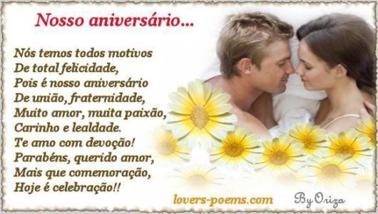 Mensagens De Aniversario De Casamento Mensagens De Casamento
