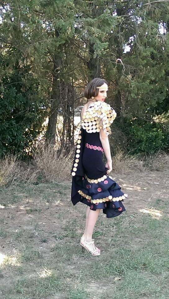 La robe flamenco