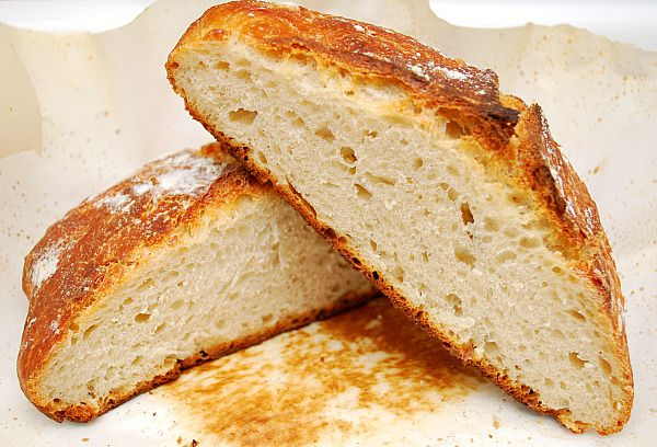 What's Cookin, Chicago?: Almost No Knead Bread