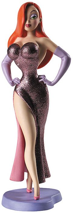 Walt Disney Classics Collection - 'I'm Not Bad, I'm Just Drawn That Way' Jessica Rabbit