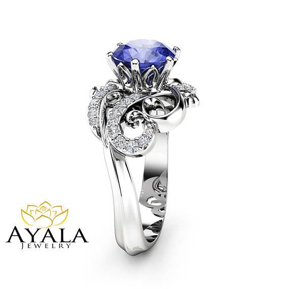 Champagne Tanzanite Tanzanite: Best 25+ Tanzanite Engagement Ring Ideas On Pinterest