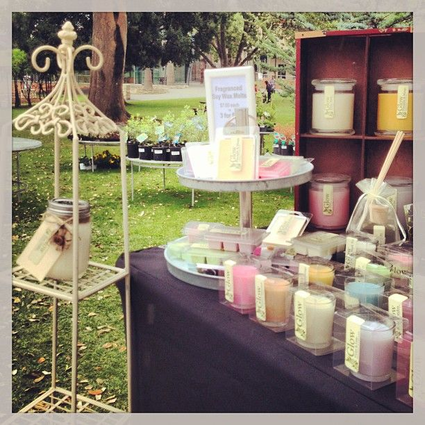 Hand crafted soy candles by Glow - Candles & More www.facebook.com/GlowSoy