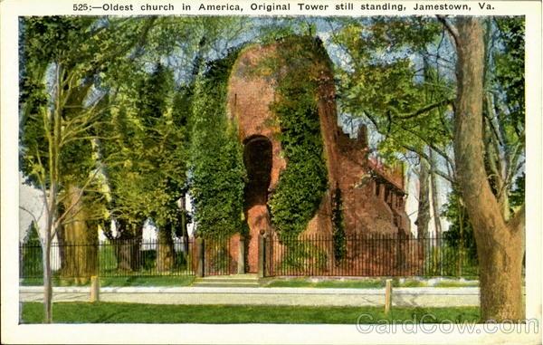 Oldest Church in America - Jamestown, Virginia