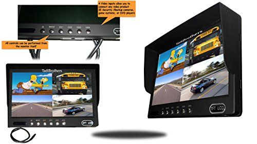 Tadibrothers 9 Inch Split Monitor and a 120 Degree CCD Wireless Double Mounted RV Backup Camera (RV Backup System)  http://www.productsforautomotive.com/tadibrothers-9-inch-split-monitor-and-a-120-degree-ccd-wireless-double-mounted-rv-backup-camera-rv-backup-system/