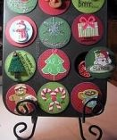 Christmas Tip Junkie: Christmas Advent Calendar, Holidays Muffins, Christmas Countdown, Christmas Crafts, Crafts Ideas, Holidays Crafts, Christmas Stuffidea, Christmas Ideas, Holidays Christmas