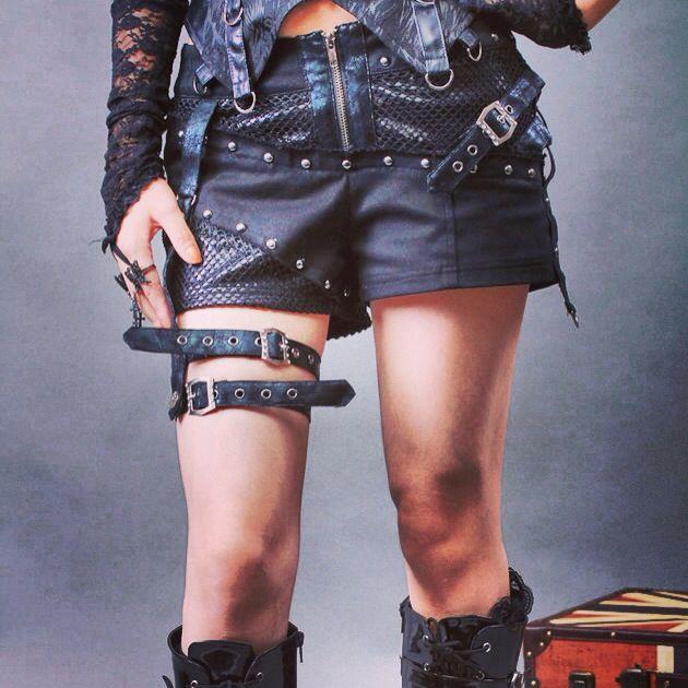 Dora Croft Short. www.victoriasfetish.com #victoriasfetish #alternativefashion #gothic #gothicfashion