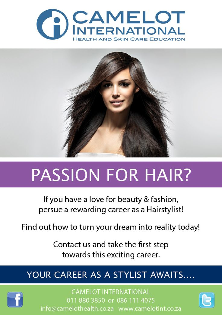Hairdressing is now available at Camelot International!  011 823 3344 eastrand@camelothealth.co.za