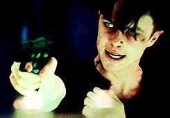 Dane DeHaan as Harry Osborn in The Amazing Spider-Man 2 #tasm 2 #those eyes #damn look at them glow