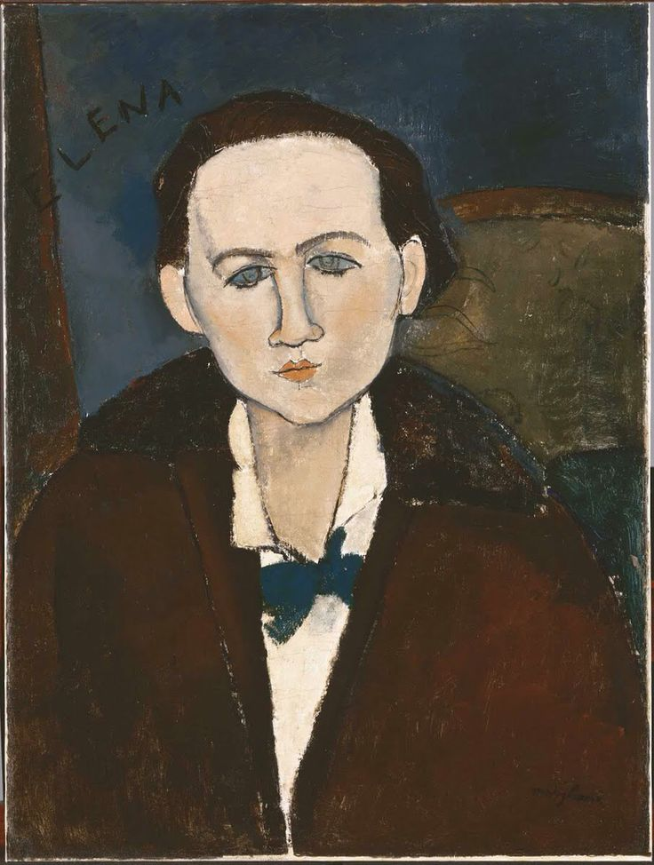 Портрет Елены Павловски 1917