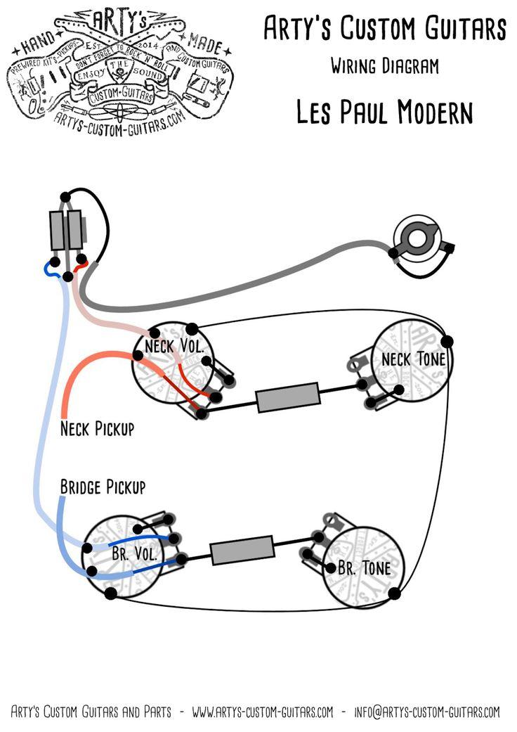 arty u0026 39 s custom guitars wiring diagram plan les paul assembly harness