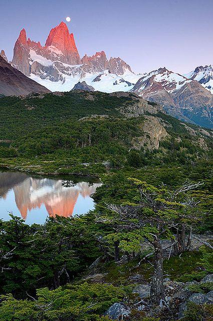 Laguna Capri,Parque Nacional Los Glaciares,Patagônia Argentina by Flávio Varricchio, via Flickr