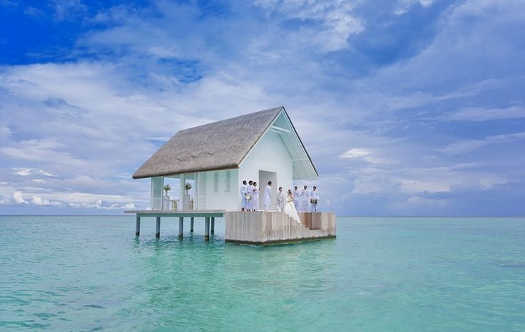 Glass-bottomed floating wedding chapel offers intimate experience | Inhabitat - Green Design, Innovation, Architecture, Green Building