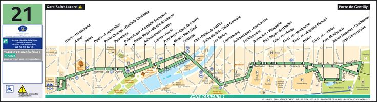 Linhas de ônibus em Paris que valem o passeio