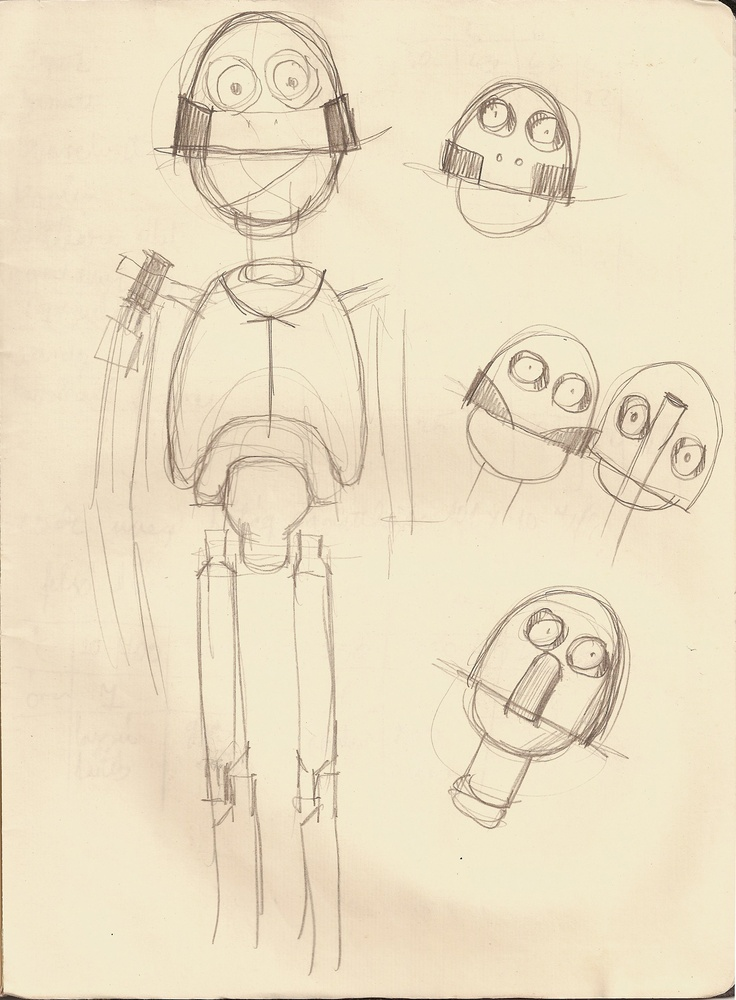 plan for the glass robot