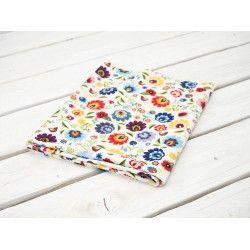FOLK ŁOWICKI / biały - dzianina na stroje kąpielowe 240g #nowość#materiał #dresówka#dzianina#new#fabric#sweatshirt#materials#shop#dresowkapl